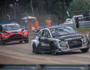 Svētdien CSDD Biķernieku trasē noslēdzās Monster Energy FIA pasaules rallijkrosa čempionāta desmitais posms Neste World RX of Latvia